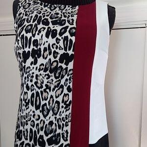 Ann Taylor color-block sheath dress